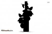 Quince Fruit Clipart || Quince Liqueur Silhouette
