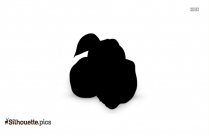 Quince Fruit Clipart || Quince Silhouette