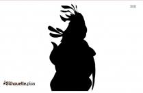 Daisy Duck Lady Silhouette, Daisy Donald Duck Vector