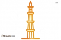 Qutub Minar Silhouette Picture