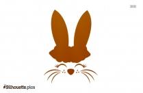 Bunny Rabbit Vector Silhouette
