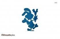 Wild Rabbit Silhouette Illustration
