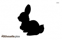 Bunny Silhouette Images
