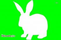 Bunny Rabbit Silhouette Background