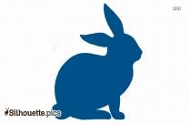 Rabbit Silhouette Printable Image