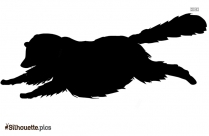 Wild Animal Walking Silhouette Art