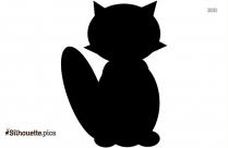 Baby Wombat Silhouette Art