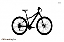 Race Bicycle Silhouette Clipart