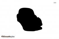 Toy Car Cartoon Silhouette Image