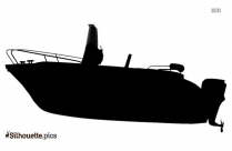 Racing Boat Silhouette