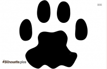 Mountain Lion Front Track Silhouette
