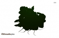 Blackberry Leaf Silhouette Vector And Graphics