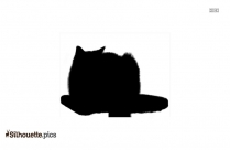 Grumpy Cat Silhouette Background