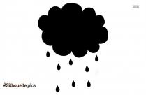 Rain Silhouette Svg