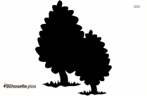 Cool Tree Silhouette Illustration