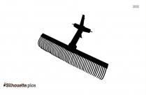 Wheelbarrow Silhouette Clipart