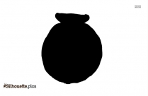 Raku Art Pottery Silhouette