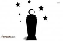 Ramadan Lamp Silhouette Image