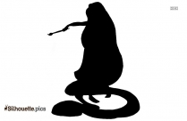 Rapunzel Painting Silhouette