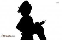 Princess Merida Clipart, Silhouette