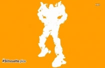 Ratchet Transformers Vector Silhouette