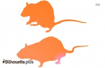 Rats Silhouette