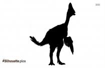 Grebe Bird Silhouette