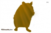 Realistic Mouse Silhouette