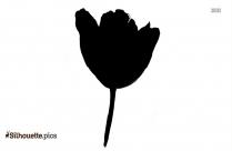 Daisy Flower Silhouette Free Vector Art