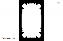 Rectangle Border Silhouette Vector And Graphics