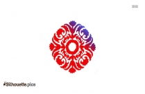 Mandala Designs Silhouette Image And Vector