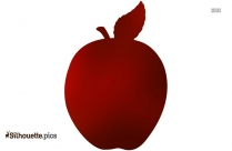 Apple Fruit Silhouette Illustration Image