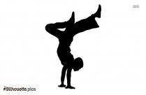 Dancing Man Silhouette Icon