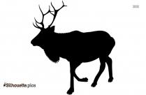 Reindeer Vector Silhouette