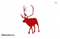Reindeer Silhouette Clipart