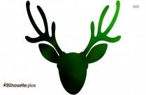 Rudolph Reindeer Clip Art Silhouette