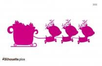 Kristoff With Reindeer Silhouette
