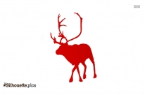 Reindeer Silhouette Image And Vector