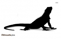 Reptiles Silhouette Lizard Clipart