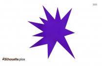 Omega Symbol Silhouette Free Vector Art