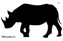 Rhinoceros Silhouette Image And Vector