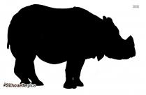 Rhino Rhinoceros Silhouette