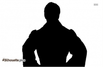 Cartoon Michael Jackson Silhouette
