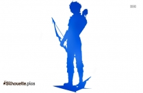 Richard Grayson Young Justice Silhouette