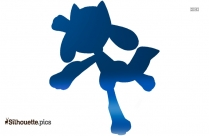 Riolu Symbol Silhouette
