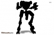 Cartoon Falcon Character Silhouette Picture