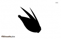 Rocket Blast Silhouette Illustration