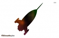 Rocket Blast Silhouette Picture
