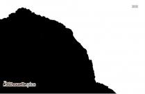 Rocky Mountain Silhouette Image
