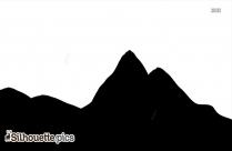 Free Mountain Silhouette Clip Art